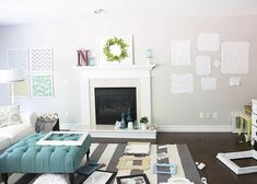 How to make a gallery wall - I Heart Nap Time