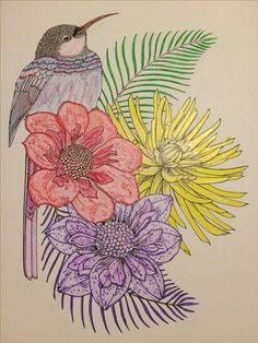 Colorama Color Me Happy Coloured By Monica V