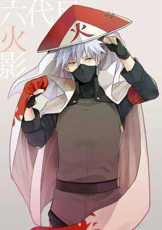 Kakashi as 6th Hokage <3