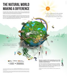 Responsibility - being accountable - doing what we can to sustain the Natural World #reliance