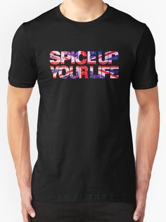 « Spice Up your life » par kridel  Tshirt Unisex noir L ou XL