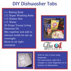 Learn how to replace two toxic products in your kitchen with two simple DIY kitchen cleaning recipes. Do you dishes with essential oils.