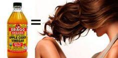 Umyj włosy octem jabłkowym, wyniki Cię zachwycą! Braggs Apple Cider Vinegar, Serum, Hair Beauty, Recipes, Per Diem, Rezepte, Ripped Recipes, Recipe