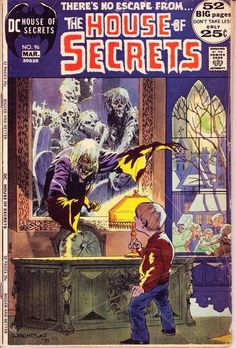 The House of Secrets No. 96 cover art by Bernie Wrightson (1971)