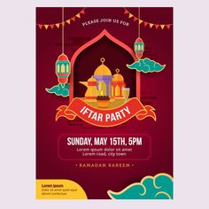 Ramadan Iftar party design poster and banner Flyer Design, Event Poster Design, Poster Designs, Poster Ramadhan, Muslim Celebrations, Arabian Party, Ramadan Poster, Islamic Events, Islamic Wallpaper Hd
