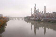 Ebro, Ikea Pax, Paris Skyline, Doors, City, Pictures, Travel, Zaragoza, Bridges