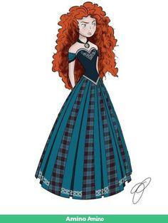 0619af5a2b Coronation Dress  Merida by JadynNytewell on DeviantArt 〖 Disney Pixar  Brave Merida Frozen Anna dress 〗