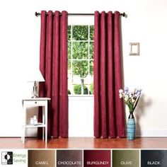 49 best red master bedroom redecorating ideas images in - Blackout curtains for master bedroom ...