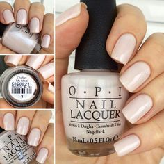 opi chiffon my mind.my favorite ! Opi Nail Colors, Pretty Nail Colors, Pretty Nails, Neutral Nails, Nude Nails, Pink Nails, Perfect Nails, Gorgeous Nails, Get Nails