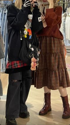 Target Audience, Hippie Outfits, Pretty And Cute, Cloths, Harajuku, Outfit Ideas, Ootd, Style Inspiration, Autumn
