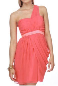 gorg coral dress