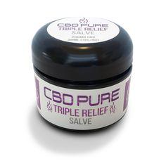 CBD Pure Triple Relief Salve 250 Mg CBD