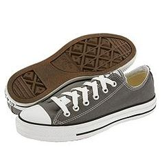 Converse Chuck Taylors in Charcoal