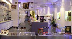 Agencement du magasin de l'Opticien Ocbo à Marseille #agencement #magasin #architecture #décoration #opticien