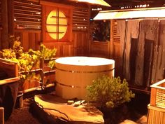 All Natural Cedar Hot Tubs that are used chemical free. jnkcedarworks.com