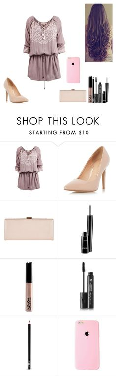 """Sem título #455"" by karen-biarmatos on Polyvore featuring moda, Dorothy Perkins, Phase Eight, MAC Cosmetics, NYX, LashFood e NARS Cosmetics"