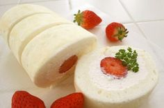 卵白消費✿純白ロールケーキ✿