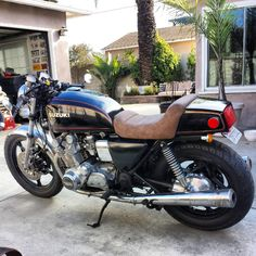 1980 Suzuki GS850 Cafe Racer Project