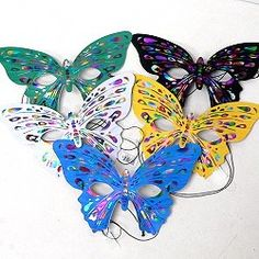 Butterfly masquerade masks with vibrant color, appealing design, and cheap price that fill the needs of your customers throwing parties and needing bulk masks. Find more options in wholesale masquerade masks by following the link.  http://www.awnol.com/store/Masks/Masquerade-Masks