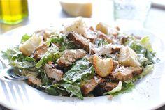 Classic Chicken Caesar Salad | Bev Cooks