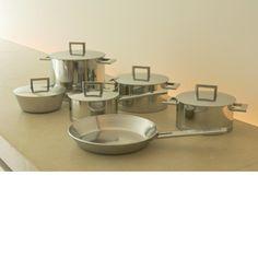 Cookpots  John Pawson for Demeyere - I want it!