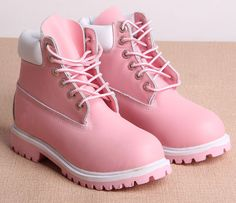Shop from the best fashion sites and get inspiration from the latest timberland pink shoes. Timberland Boots, Ugg Boots, Shoe Boots, Cute Shoes, Me Too Shoes, Tout Rose, Mode Kawaii, Everything Pink, Pink Shoes