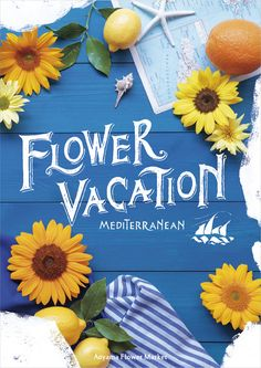 爽やかな夏っぽさ 花や果物モチーフ&手書き Web Banner Design, Menu Design, Design Art, Color Plan, Newsletter Design, Creative Posters, Flower Market, Illustrator Tutorials, Layout