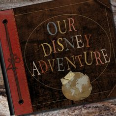 Disney Adventure Book Personalized Vacation by AlbumOptions, $55.95