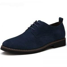 genuine leather men casual flats waterproof dress oxford man shoes lace up for work male loafers Casual Leather Shoes, Suede Leather Shoes, Leather Men, Men's Casual Shoes, Smooth Leather, Lace Up Shoes, Dress Shoes, Dress Loafers, Comfortable Mens Shoes