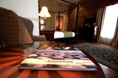 Make your visit to Savannah one you'll always remember by booking a room at the River Street Inn. Located downtown with the best view of the Savannah River, let the past meet the present. Savannah Hotels, Savannah Chat, Local Attractions, Nice View, Master Suite, River, Street, Room, Furniture