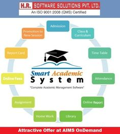 Get attractive offer at AIMS (Academic Information Management System) OnDemand by HR Software solution. We provide complete Institute & #CollegeERP solution.This offer is valid for limited time so hurry and call us or visit our website link.