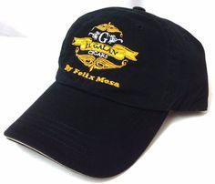 EL GALAN CIGARS by FELIX MESA HAT Black&Yellow/Gold Relaxed-Fit Cotton Men/Women #PortAuthority #BaseballCap