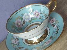 Vintage Royal Stafford blue Garland English Bone china tea cup Teacup