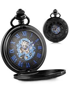 Alienwork Retro mechanical Pocket Watch Skeleton Hand-wind engraved Metal blue black W891B-01 Alienwork http://www.amazon.com/dp/B0139S4MOY/ref=cm_sw_r_pi_dp_8JXCwb152M8FE