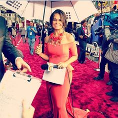 Today is Oscars Day! The incredible Lisa Wilkinson from Channel Nine's TODAY Show is wearing an exclusive custom designed Pallas Couture gown as she hosts from the red carpet at the Academy Awards! Lisa, you look absolutely beautiful! Lisa Wilkinson, Pallas Couture, Today Show, Oscars, Couture Dresses, Popsugar, Red Carpet, Custom Design, The Incredibles