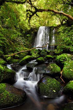 Matai Falls, Catlins, South Island, New Zealand
