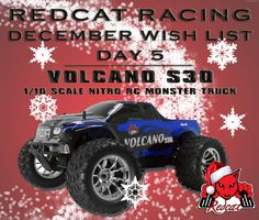 December Wish List Day 5 - Redcat Racing Volcano S30 1/10 Scale Nitro RC Truck
