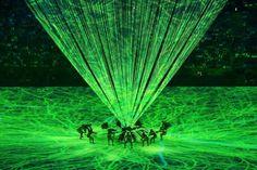 Show de luzes e mistura de ritmos dão o tom da abertura da Rio 2016