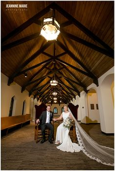 Bride and groom's wedding portraits at Mount Olivet Lutheran Church in the Twin Cities. Photo by Minnesota wedding photographer Jeannine Marie Photography. #bride #groom #wedding #weddinggown #weddingdress #groomattire #churchwedding #Minneapolis #Mountolivetchurch #weddingportraits #Indoorwedding #Jeanninemariephotography #Minneapolisweddingphotographer #minnesotaweddingphotographer