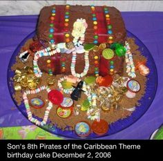 Pirate of the Caribbean theme 2006 for Liam