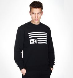 Sweatshirt Black FLAG --> Shop at: www.hustla.pl/kartel  www.kartelbrand.com