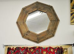 @Krissy Staley Maybe you could DIY a frame like this for your curb-side mirror find?