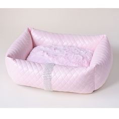 Liquid Ice Dog Bed - Pink, an absolute Stunner! Transform a ho-hum sleeping space. | Neiman Barkus Couture