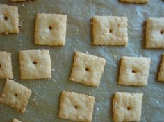 Gluten-free, dairy-free homemade Cheez-Its: if you have an allergy that's kept you from this childhood snack fave, here you go.