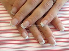 Another thing Rodeo Queens need: Beautiful Nails. I prefer French because it looks really nice