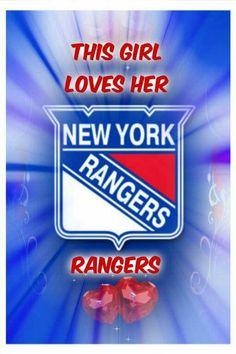 Love my NY RANGERS!