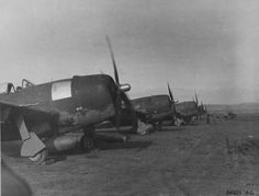 Brazilian Thunderbombers Republic P-47s of the First Brazilian Fighter Squadron take off on a mission to attack the Germans in Northern Italy.