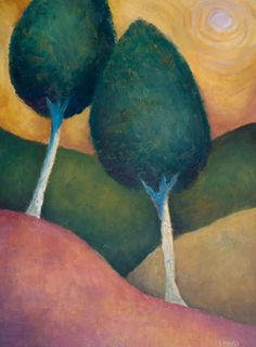 Two Trees Sunshine by Jeremy Mayes