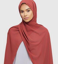Deep Spice Soft Crepe Hijab - £11.90 : Inayah, Islamic Clothing & Fashion, Abayas, Jilbabs, Hijabs, Jalabiyas & Hijab Pins