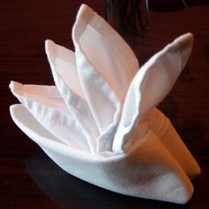 Folding Cloth Table Napkins